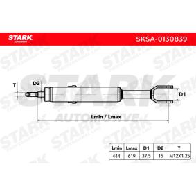 AUDI A4 1.9 TDI 130 PS ab Baujahr 11.2000 - Stoßdämpfer (SKSA-0130839) STARK Shop
