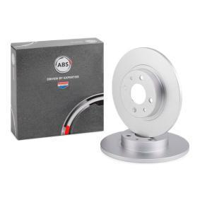 спирачен диск A.B.S. Art.No - 15858 OEM: 51859075 за FIAT, ALFA ROMEO, LANCIA, CHRYSLER купете