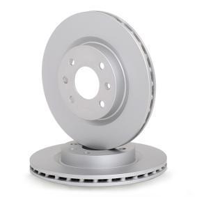 A.B.S. Disco de travão Eixo dianteiro, Ø: 259,0mm, ventilado 8717109014587 classificação