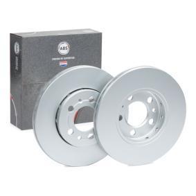 A.B.S. Disco de travão Eixo dianteiro, Ø: 256,0mm, ventilado 16880 conhecimento especializado