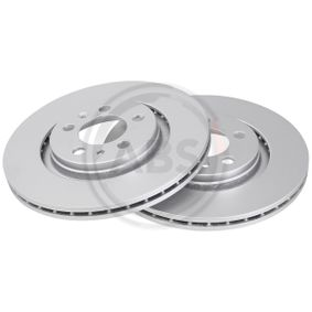 спирачен диск задна ос, предна ос, Ø: 280,0мм, вентилиран от производител A.B.S. 16881 до - 70% отстъпка!