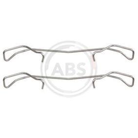 A.B.S. Disco de travão Eixo traseiro, Eixo dianteiro, Ø: 280,0mm, ventilado Número do artigo 16881 preços
