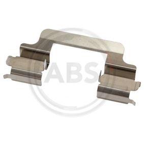 A.B.S. спирачен диск ляво, дясно, предна ос, Ø: 266,0мм, вентилиран, с покритие Артикул №17336 Цени