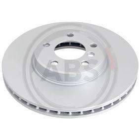A.B.S. Bremsscheibe links, rechts, Vorderachse, Ø: 266,0mm, belüftet, beschichtet Artikelnummer 17336 Preise