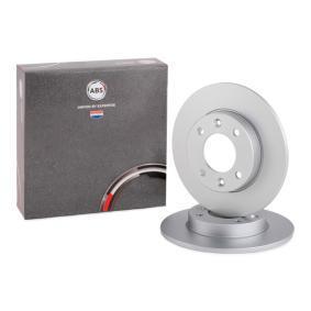 A.B.S. спирачен диск задна ос, Ø: 247,0мм, плътен, с покритие 17357 в оригиналното качество