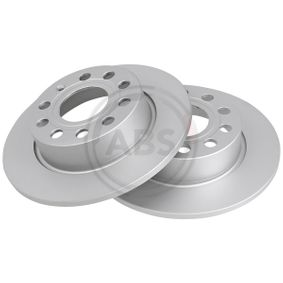 A.B.S. Brake Disc Rear Axle, Ø: 253,0mm, Solid, Coated 17520 expert knowledge