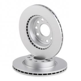 A.B.S. Brake Disc Front Axle, Ø: 280,0mm, Vented, Coated 8717109260311 rating