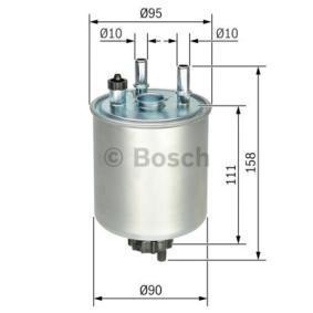 BOSCH Kraftstofffilter (F 026 402 082) niedriger Preis