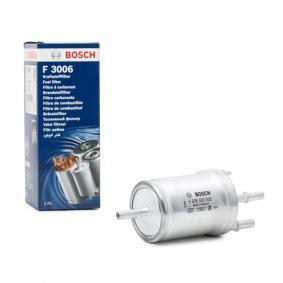BOSCH Filtro combustible CBZB con regulador de presión integrado con regulador de presión para vehículos con recirculación de combustible Inyección de gasolina F 026 403 006 en calidad original