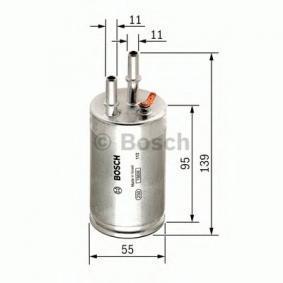 BOSCH F 026 403 014 Kraftstofffilter OEM - 30792046 VOLVO günstig