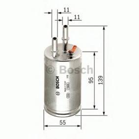 BOSCH F 026 403 014 Kraftstofffilter OEM - 31274940 VOLVO, VOLVO (CHANGAN) günstig