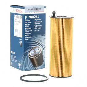 BOSCH Oljefilter BNG Filterinsats F 026 407 002 original kvalite