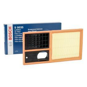 Luftfilter BOSCH Art.No - F 026 400 035 OEM: 036129620J für VW, AUDI, SKODA, SEAT kaufen