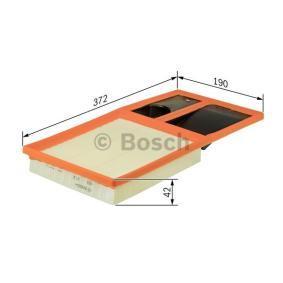 BOSCH Luftfilter (F 026 400 035) niedriger Preis