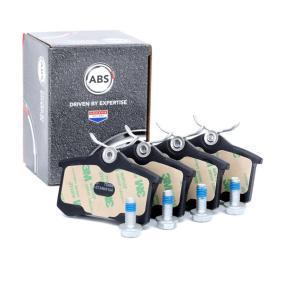 A.B.S. Bromsbeläggssats, skivbroms 1J0698451N för VW, AUDI, FORD, RENAULT, PEUGEOT köp
