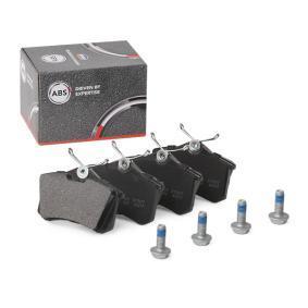 1J0698451F für VW, AUDI, FORD, RENAULT, SKODA, Bremsbelagsatz, Scheibenbremse A.B.S. (36623/1) Online-Shop