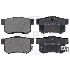 CIVIC VIII Hatchback (FN, FK) A.B.S. Brake pad set disc brake 36757