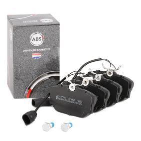 3C0698451D für VW, AUDI, SKODA, SEAT, HONDA, Bremsbelagsatz, Scheibenbremse A.B.S. (37110) Online-Shop