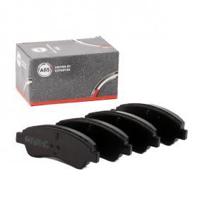 1613192280 for PEUGEOT, CITROЁN, DS, PIAGGIO, Brake Pad Set, disc brake A.B.S. (37272) Online Shop