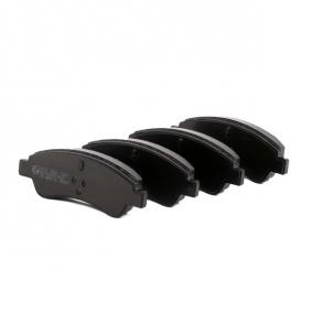 A.B.S. 37272 Brake Pad Set, disc brake OEM - 1613192280 CITROËN, PEUGEOT, PIAGGIO, HELLA, CITROËN/PEUGEOT, GLASER, SCT Germany, DS cheaply
