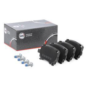 3C0698451A für VW, AUDI, SKODA, SEAT, Bremsbelagsatz, Scheibenbremse A.B.S. (37411) Online-Shop