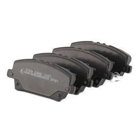 A.B.S. Brake pads 37529