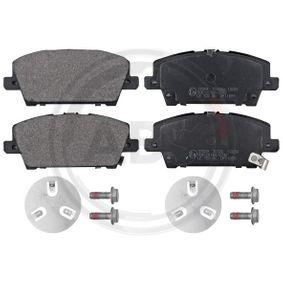A.B.S. HONDA CIVIC Brake pads (37529)