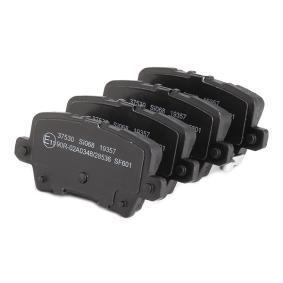 A.B.S. Brake pads 37530