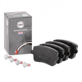 8K0698451D für VW, AUDI, SKODA, SEAT, Bremsbelagsatz, Scheibenbremse A.B.S. (37588) Online-Shop