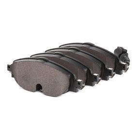 A.B.S. 37958 Kit de plaquettes de frein, frein à disque OEM - 5Q0698151A AUDI, SEAT, SKODA, VW, VAG à bon prix