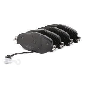A.B.S. Kit de plaquettes de frein, frein à disque (37958) à bas prix