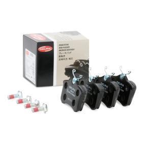 1J0698451F für VW, AUDI, FORD, RENAULT, SKODA, Bremsbelagsatz, Scheibenbremse DELPHI (LP565) Online-Shop