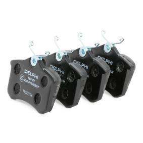 DELPHI Brake pads LP565