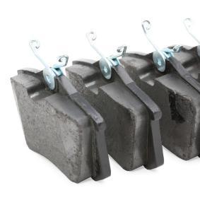 DELPHI RENAULT MEGANE Brake pads (LP565)