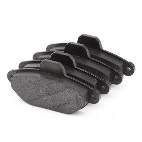 DELPHI Brake pad set (LP851)