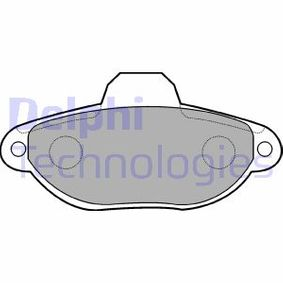 Repair kit, wheel suspension DELPHI (LP851) for FIAT PUNTO Prices