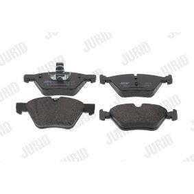 Bremsbelagsatz, Scheibenbremse JURID Art.No - 573151J OEM: 34116777772 für BMW, ALPINA kaufen