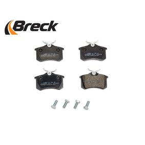 1H0698451H für VW, AUDI, SKODA, PEUGEOT, SEAT, Bremsbelagsatz, Scheibenbremse BRECK (20961 00 704 00) Online-Shop