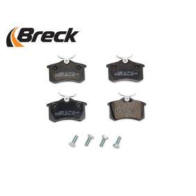 Megane III Hatchback (BZ0/1_) BRECK Brake pad set disc brake 20961 00 704 00