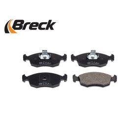 9949125 für FIAT, SEAT, ALFA ROMEO, LANCIA, Bremsbelagsatz, Scheibenbremse BRECK (23552 00 702 00) Online-Shop