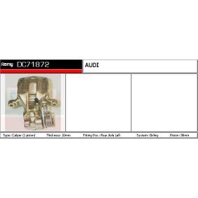 DELCO REMY Bremssattelträger DC71872 für AUDI 100 1.8 88 PS kaufen