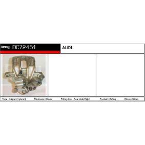 AUDI 100 1.8 88 PS ab Baujahr 02.1986 - Bremssattelträger (DC71872) DELCO REMY Shop
