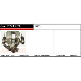 AUDI 80 2.8 quattro 174 PS ab Baujahr 09.1991 - Bremssättel (DC71953) DELCO REMY Shop