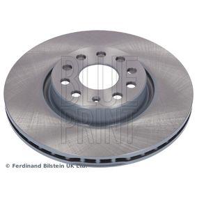 Bremsscheibe BLUE PRINT Art.No - ADV184308 OEM: 5N0615301 für VW, AUDI, SKODA, SEAT, ALFA ROMEO kaufen