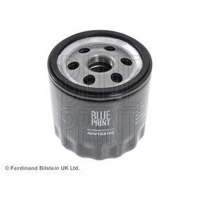 Ölfilter BLUE PRINT Art.No - ADV182102 OEM: 030115561AB für VW, AUDI, SKODA, SEAT, CUPRA kaufen