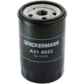 DENCKERMANN A210022 Oil Filter OEM - 034115561A AUDI, SEAT, SKODA, VW, VAG, FIAT / LANCIA, SMART, AUDI (FAW), VW (FAW), VW (SVW), eicher, CUPRA cheaply