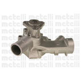Wasserpumpe METELLI Art.No - 24-0233 OEM: 048121011 für VW, AUDI, SKODA, SEAT, PORSCHE kaufen