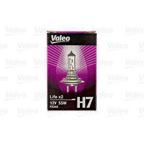 VALEO Крушка с нагреваема жичка, фар за дълги светлини 032517
