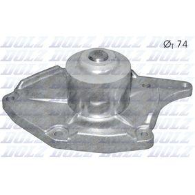 Wasserpumpe (R227) hertseller DOLZ für RENAULT CLIO II (BB0/1/2_, CB0/1/2_) ab Baujahr 06.2001, 65 PS Online-Shop