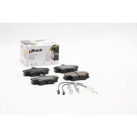 BRECK Bremsbelagsatz, Scheibenbremse 7701204833 für RENAULT, PEUGEOT, NISSAN, CHEVROLET, DACIA bestellen
